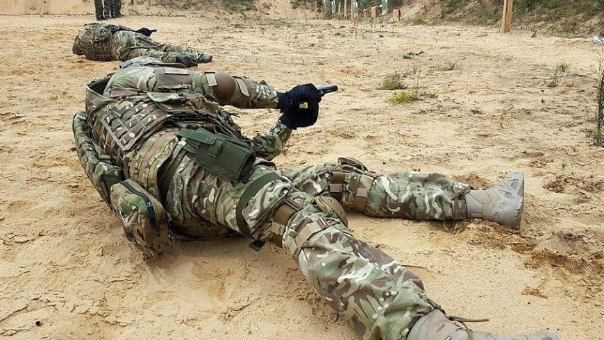 Šaudymas tikrais ginklais